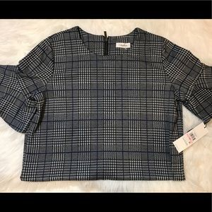 Calvin Klein NWT Plaid Dress - 10P